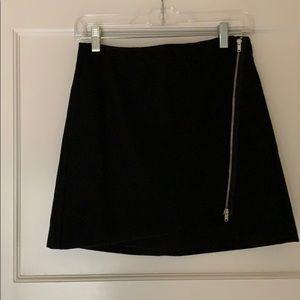 Gap Wool Blend A-Line Miniskirt